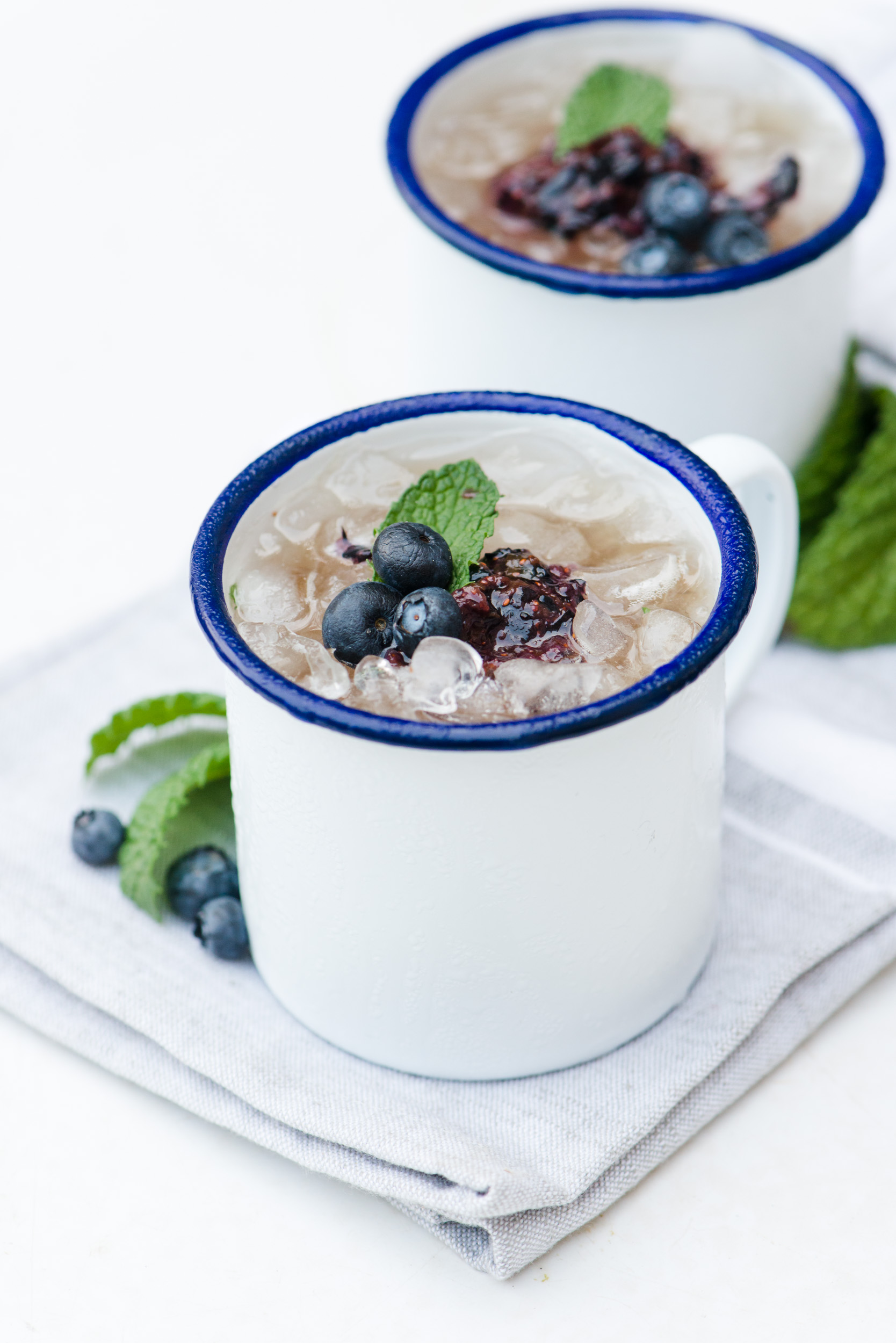 The Adventures of Bob & Shan - Blueberry Mint Julep