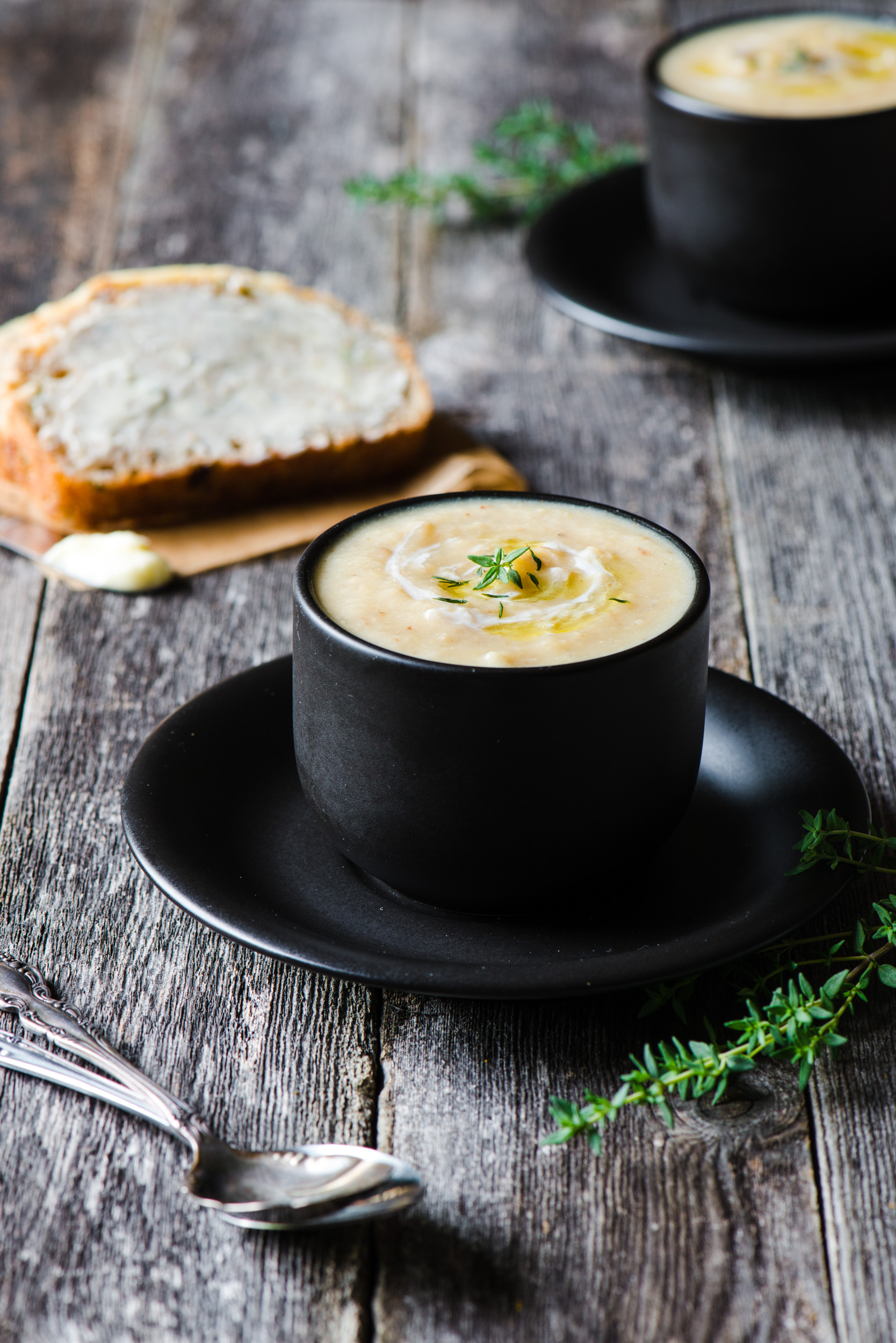 The Adventures of Bob & Shan - Cauliflower Zucchini Soup