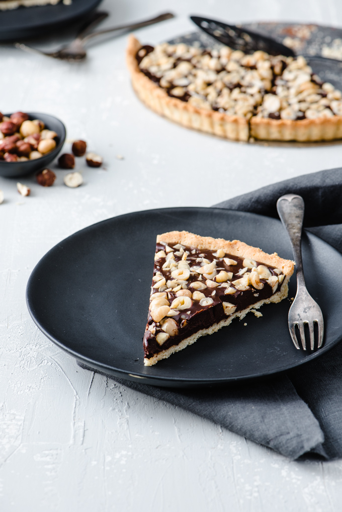 Chocolate Hazelnut Tart - Loved the rich chocolate and flavours of ...
