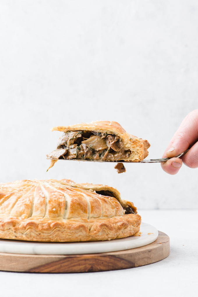 Mushroom Pithivier - Vegetarian comfort food at its most decadent.