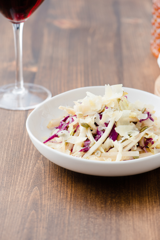 Asian Winter Slaw - Crispy, crunchy, and refreshing!